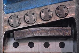 1000吨废钢液压剪切机